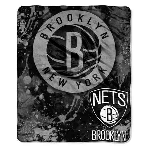 1NBA070200017RET: NBA DROPDOWN RASCHEL THROW, Nets
