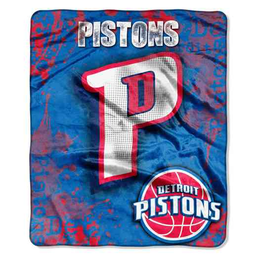 1NBA070200008RET: NBA DROPDOWN RASCHEL THROW, Pistons
