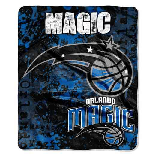 1NBA670000019RET: NBA DROPDOWN RASCHEL THROW, Magic