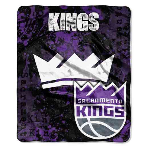 1NBA670001023RET: NBA DROPDOWN RASCHEL THROW, Sac Kings