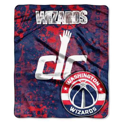 1NBA670000029RET: NBA DROPDOWN RASCHEL THROW, Wizards