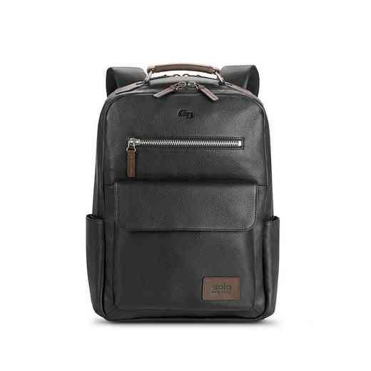 LEA700-4U2: Solo Kilbourn Leather Backpack