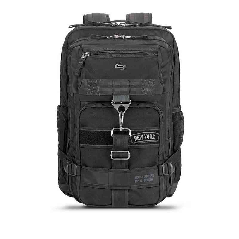UBN750-4/10U2: Solo Altitude Backpack- Black