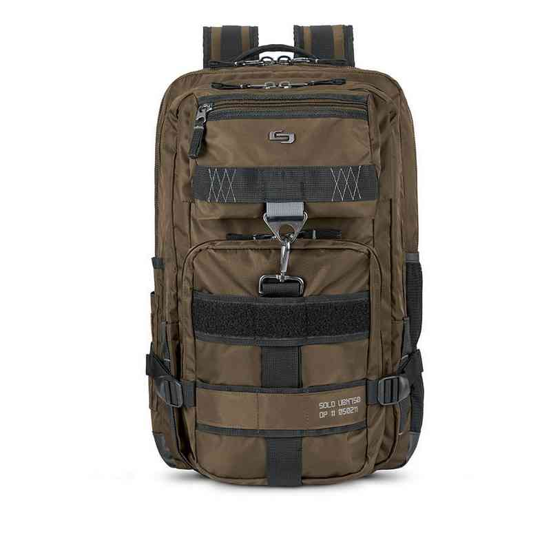 UBN750-3: Solo Altitude Backpack- Brown