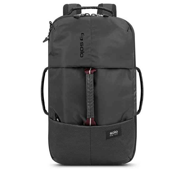 VAR600-4U4: Solo All-Star Hybrid Backpack Duffel- Black