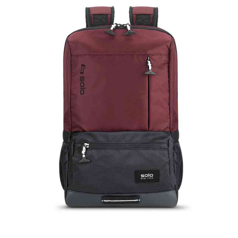 VAR701-60U4: Solo Draft Backpack- Burgundy