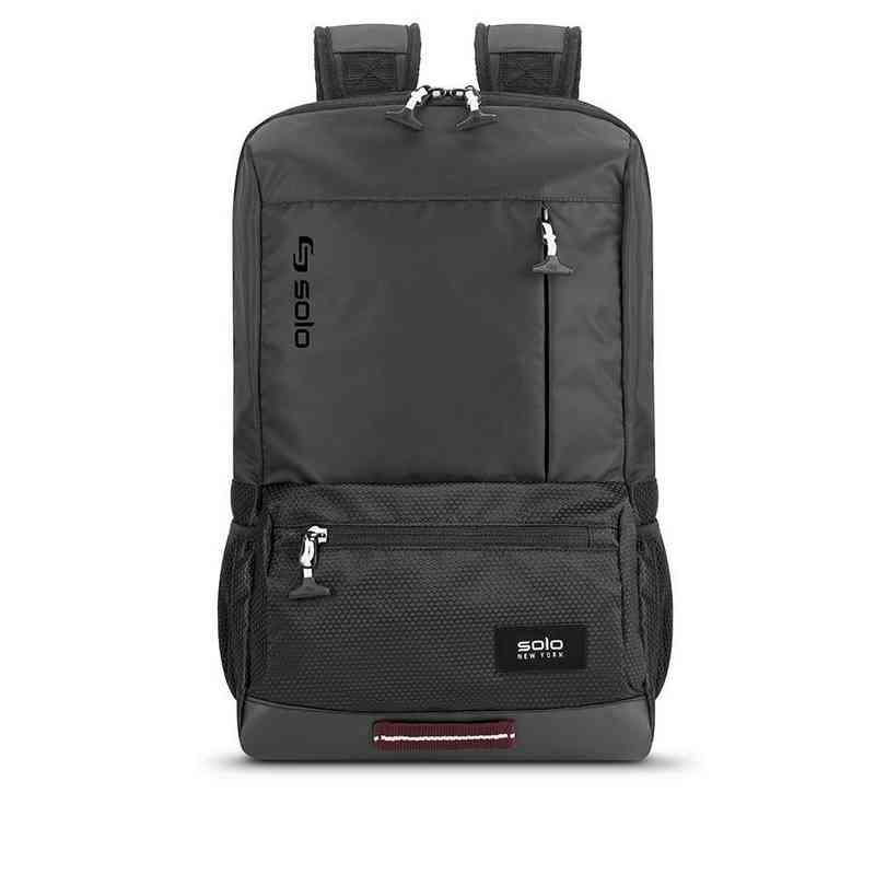 dca52fff9d VAR701-4U4   Solo Draft Backpack- Black