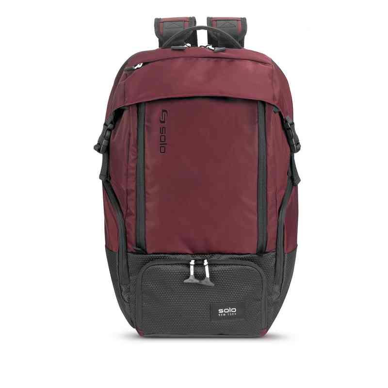 VAR702-60U4: Solo Elite Backpack- Burgundy