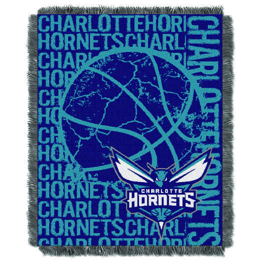 1NBA019040031RET: NBA  JACQUARD THROW, Hornets