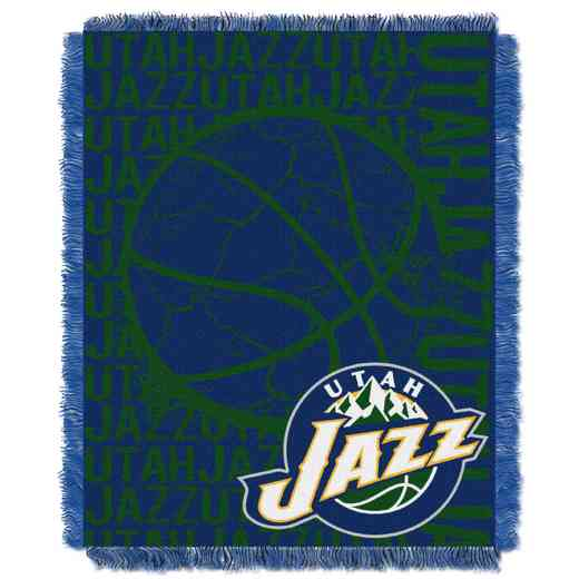 1NBA019040027RET: NBA  JACQUARD THROW, Jazz