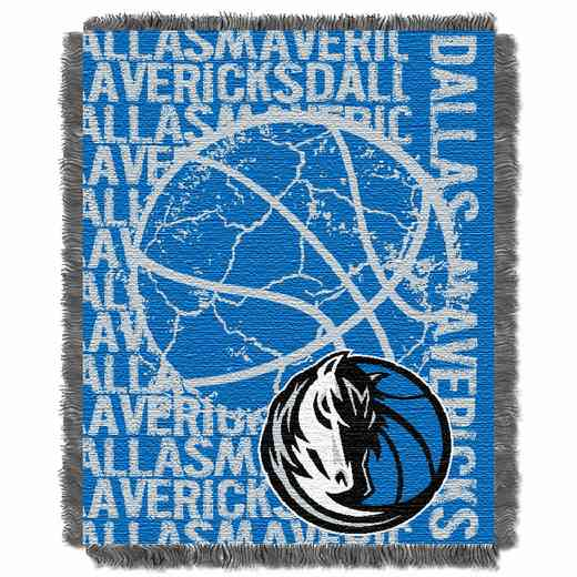 1NBA019040006RET: NBA  JACQUARD THROW, Mavericks