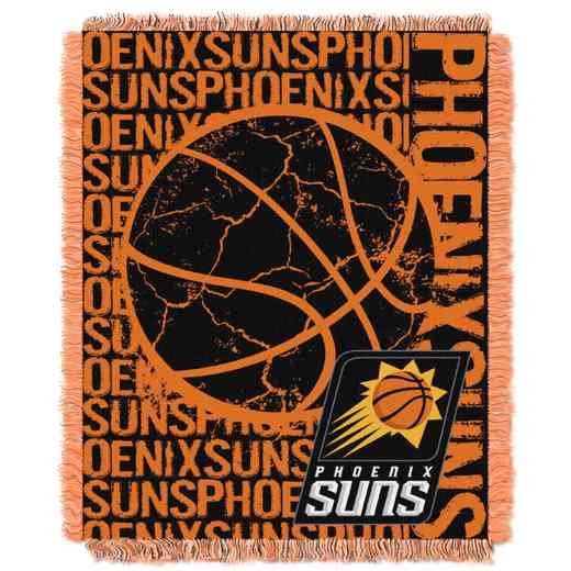 1NBA019040021RET: NBA  JACQUARD THROW, Suns