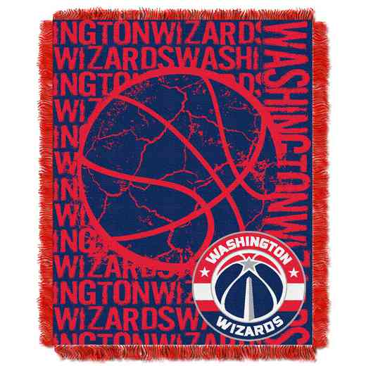 1NBA019040029RET: NBA  JACQUARD THROW, Wizards