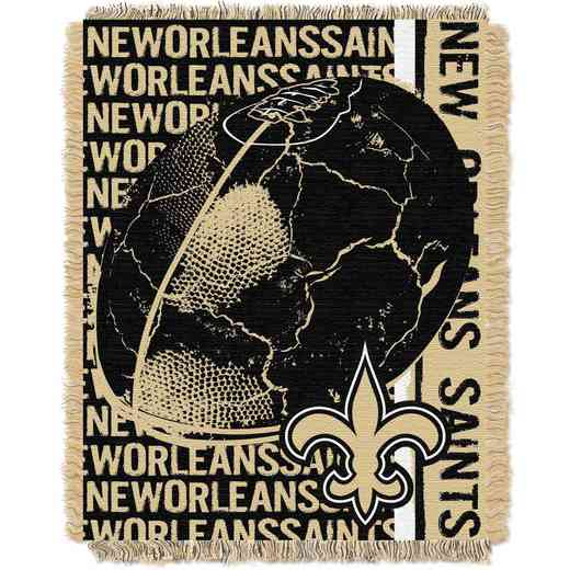1NFL019030021RET: NFL Double Play Jacquard Throw, Saints