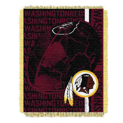1NFL019030020RET: NFL Double Play Jacquard Throw, Redskins