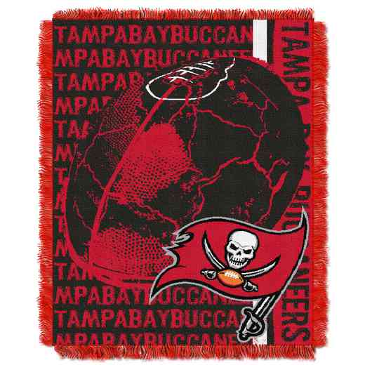 1NFL019030006RET: NFL Double Play Jacquard Throw, Bucs