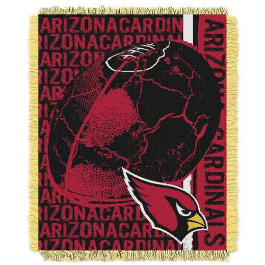 1NFL019030080RET: NFL Double Play Jacquard Throw, Cardinals