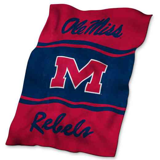 176-27: Ole Miss UltraSoft Blanket