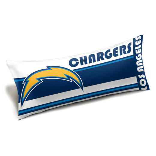 1NFL159012079WMT: NFL Seal Body Pillow, LA Chargers