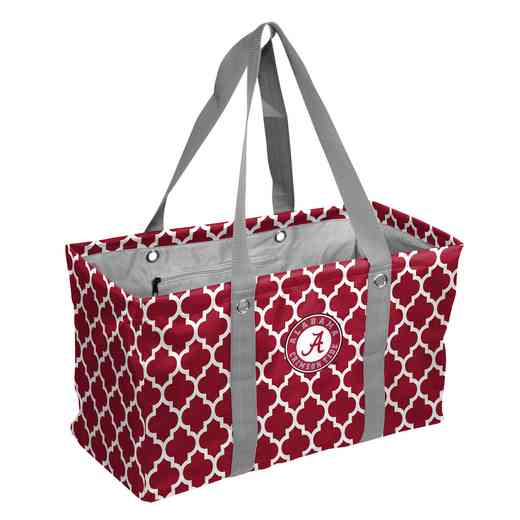 102-765QF: Alabama Quatrefoil Picnic Caddy