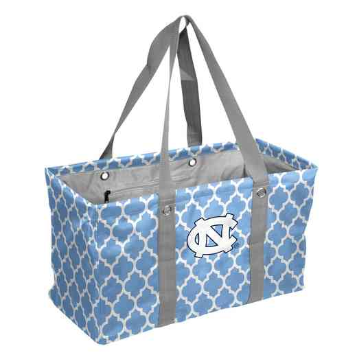 185-765QF: North Carolina Quatrefoil Picnic Caddy