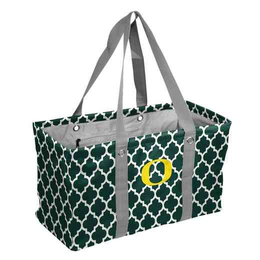 194-765QF: Oregon Quatrefoil Picnic Caddy