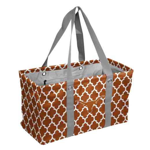 218-765QF: Texas Quatrefoil Picnic Caddy