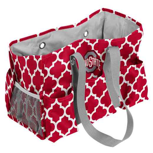 191-865QF: Ohio State Quatrefoil Jr Caddy