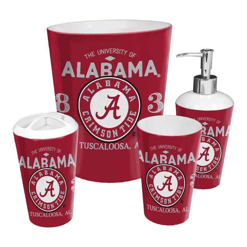 Merveilleux 1COL951000018RET: COL 951 Alabama 4pc Bath Set