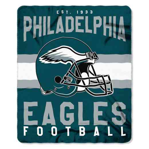 1NFL031030011RET: NW SINGULAR FLLECE THROW, EAGLES