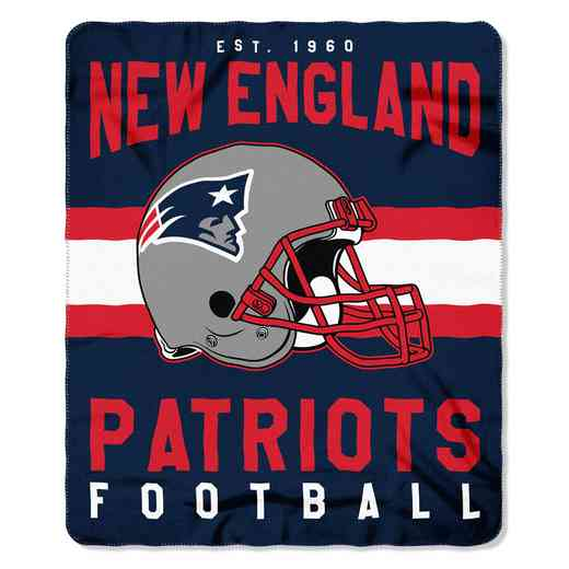 1NFL031030076RET: NW SINGULAR FLLECE THROW, PATRIOTS