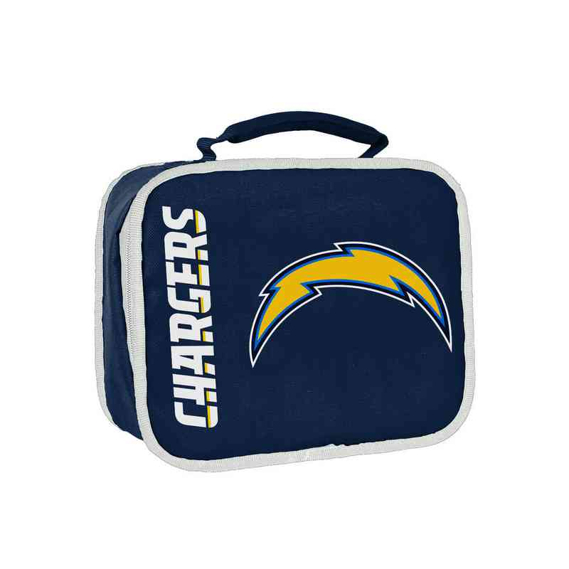 C11NFL42C410079RTL: NFL Chargers Lunchbox Sacked
