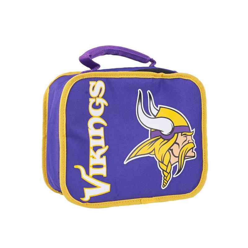 C11NFL42C510023RTL: NFL Vikings Lunchbox Sacked