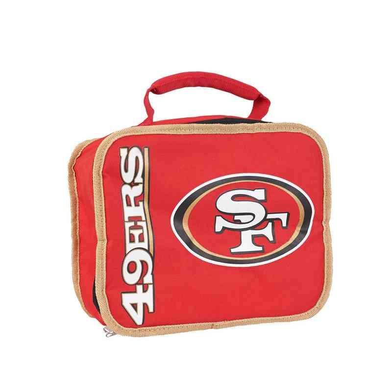 C11NFL42C600013RTL: NFL 49ers Lunchbox Sacked