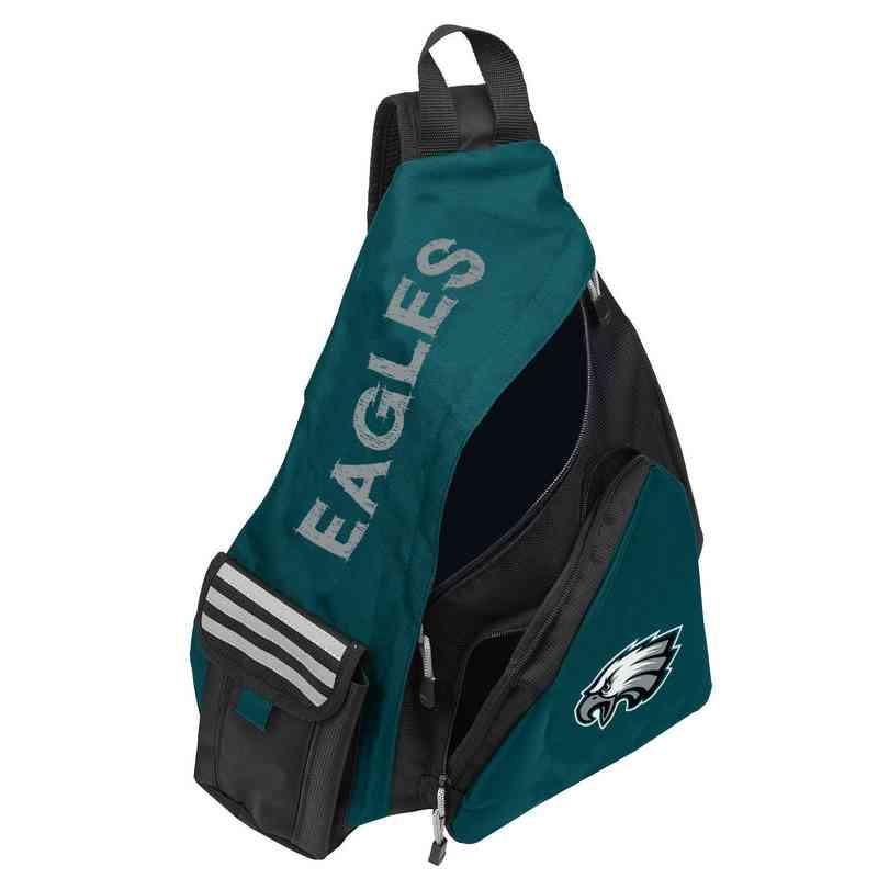 b062d4e9d0f Philadelphia Eagles Challenge Sling Backpack