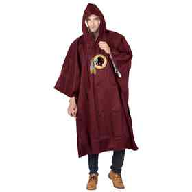C11NFL47C636020RTL: NFL Redskins Deluxe Poncho