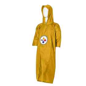 88bd9da46 C11NFL47C700078RTL  NFL Steelers Deluxe Poncho. Pittsburgh Steelers  Superior Poncho