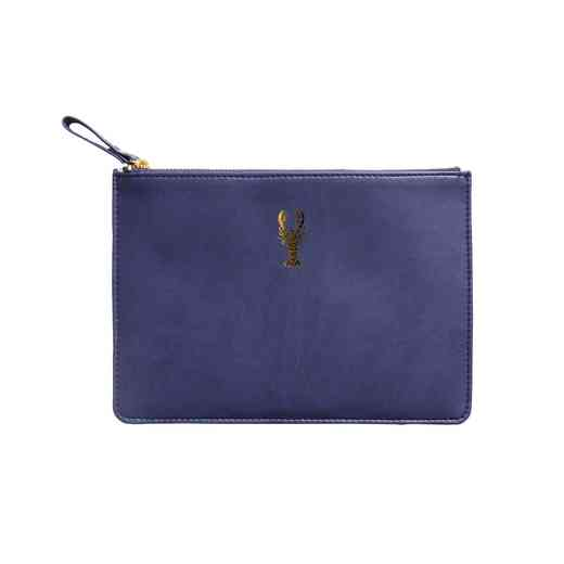 SKYP04: Sky  Miller Navy Blue Lobster Pouch