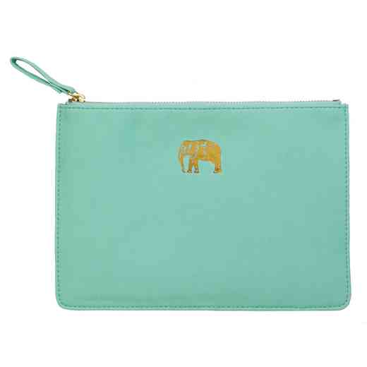 SKYP05: Sky  Miller Light Blue Elephant Pouch