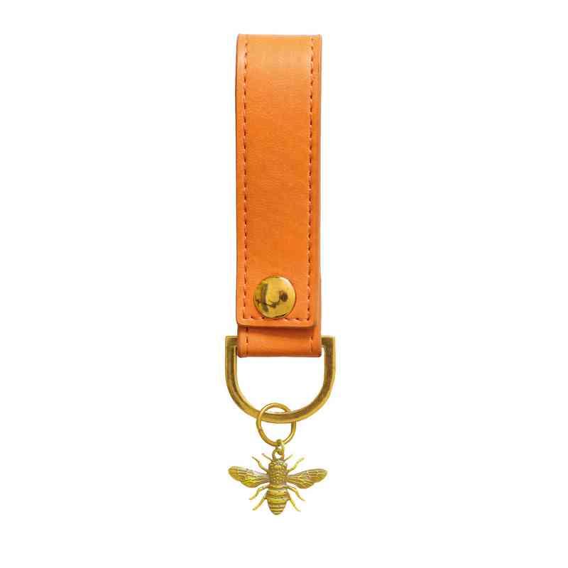 SKYK06: Sky + Miller Orange Bee Keyring