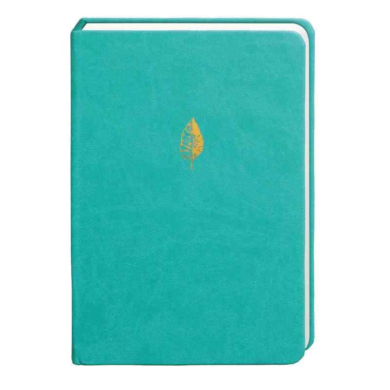 SKYN01: Sky + Miller Teal Leaf Notebook