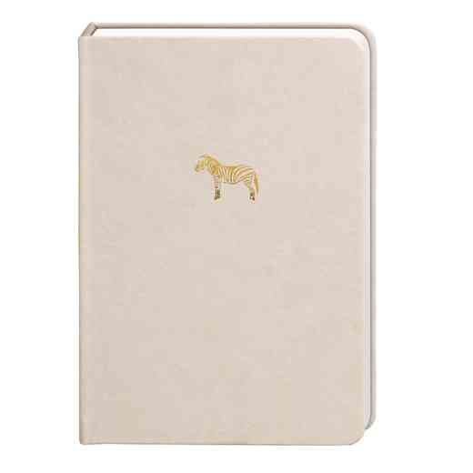 SKYN02: Sky + Miller Grey Zebra Notebook