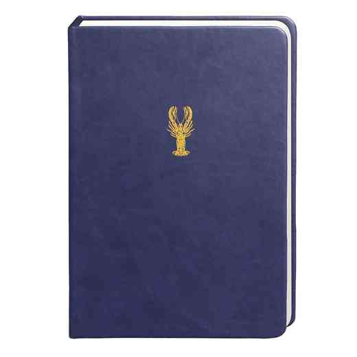 SKYN04: Sky + Miller Navy Blue Lobster Notebook