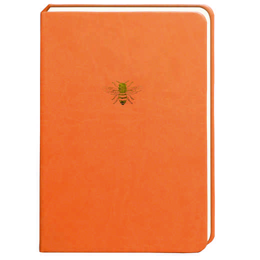 SKYN06: Sky + Miller Orange Bee Notebook