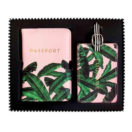 ASGT1812: Alice Scott Luggage Tag & Passport Cover