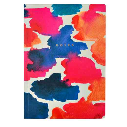 GTPNB11: Portico/AW16 Notebooks  A5 FLEXI WATERCOLOUR DASH