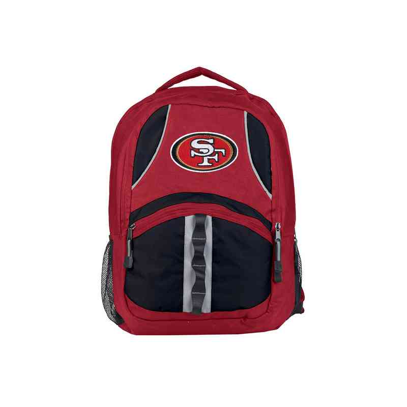 C11NFLC02603013RTL: NFL 49ers  Captain Backpack
