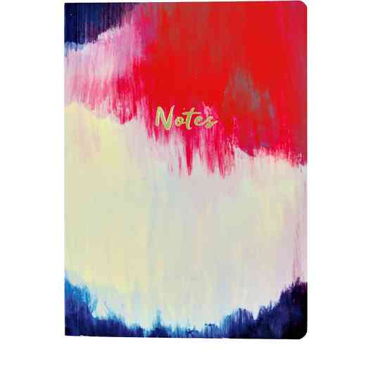 GTPNB12: Portico/AW16 Notebooks  A5 FLEXI WATERCOL ABSTRACT BRUSH STROKE