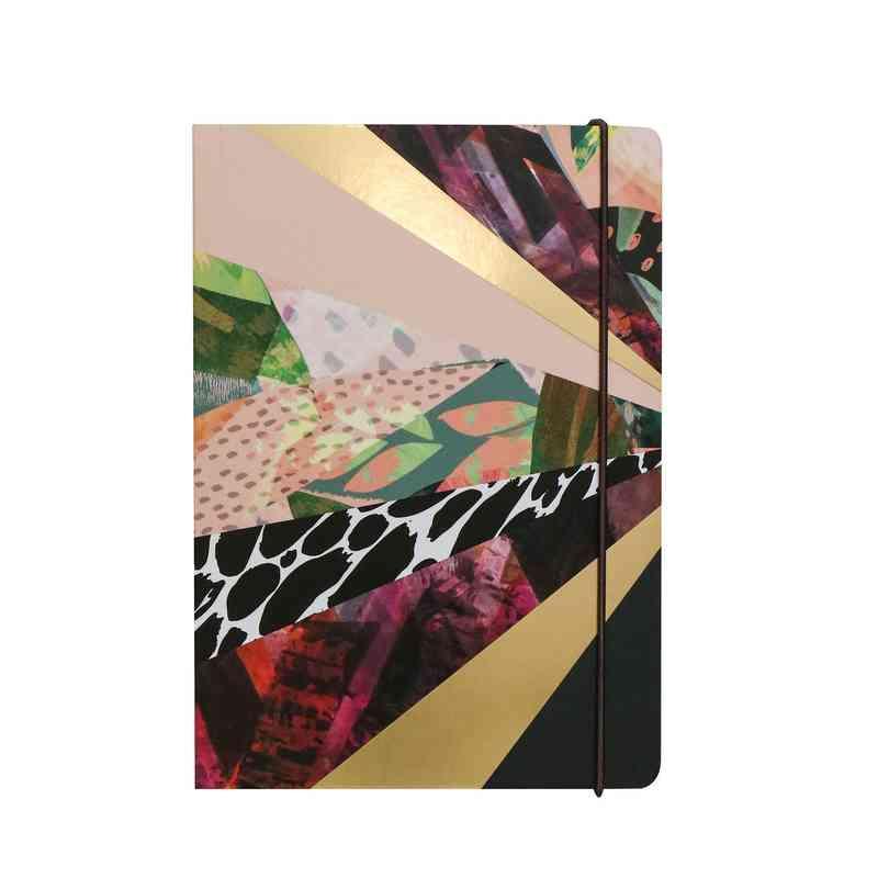 GTPNB26: Portico Notebooks  KALEIDOSCOPE A5 NOTEBOOK
