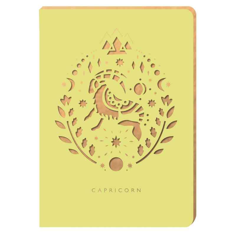 PZ01: Portico/Zodiac Notebook Capricorn Zodiac Notebook